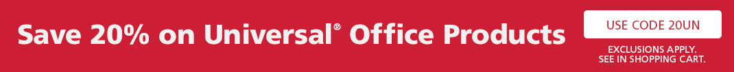 Universal Office Products - Save 20 Percent